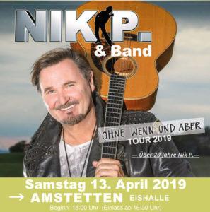 Nik P. & Band in Amstetten
