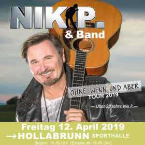 Nik P. & Band in Hollabrunn